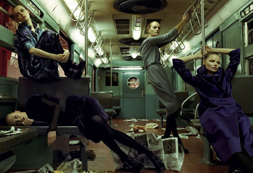 Lans w metrze