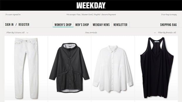 shops weekday