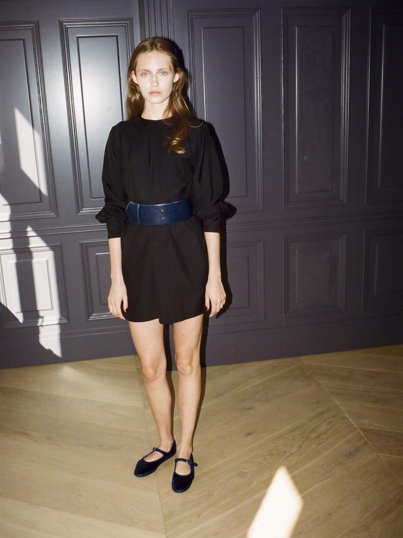 25 Franca dress, Viola belt