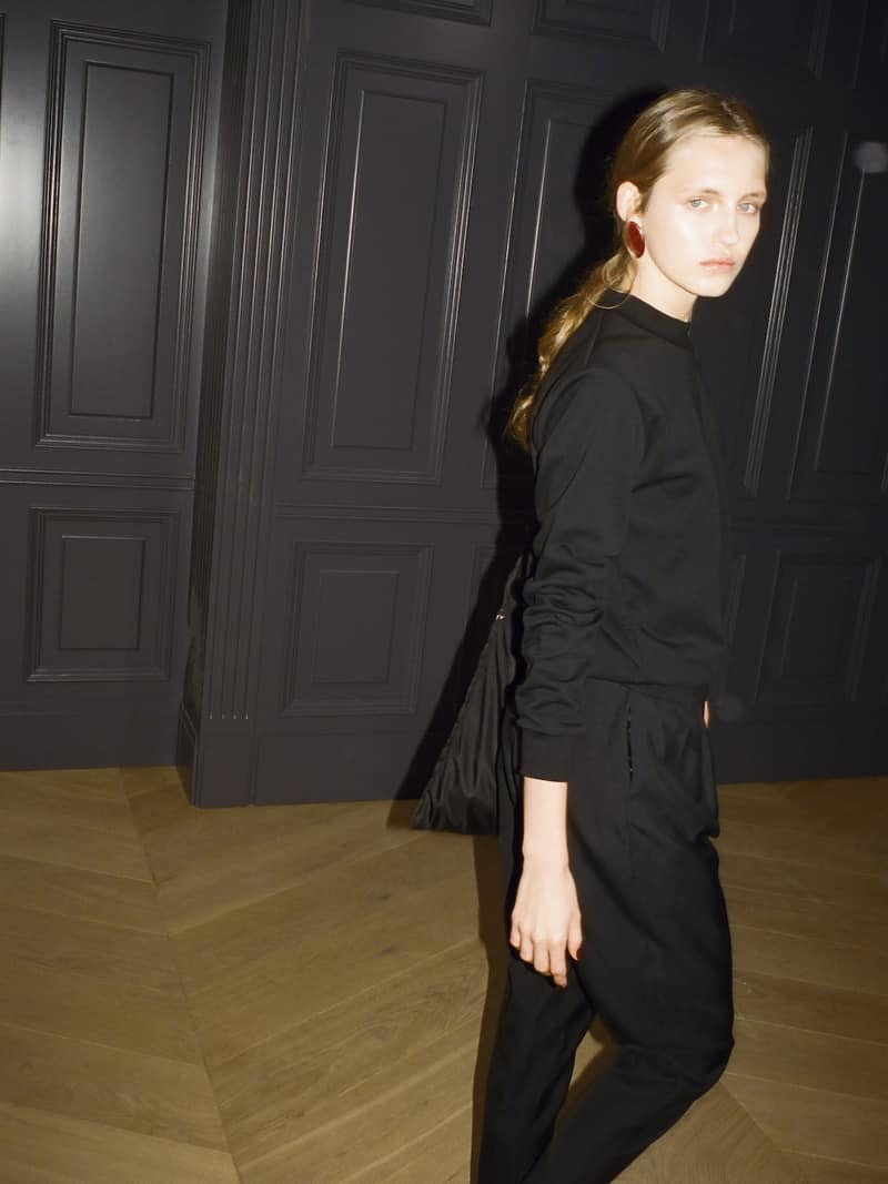 37 Black Celebration blouse, Gioia pants, Lavigna grande bag 2