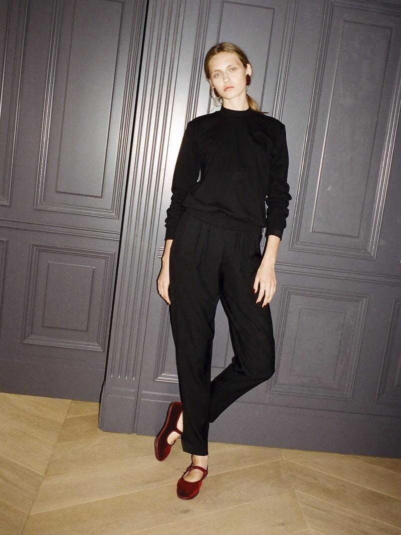 38 Black Celebration blouse, Gioia pants 3