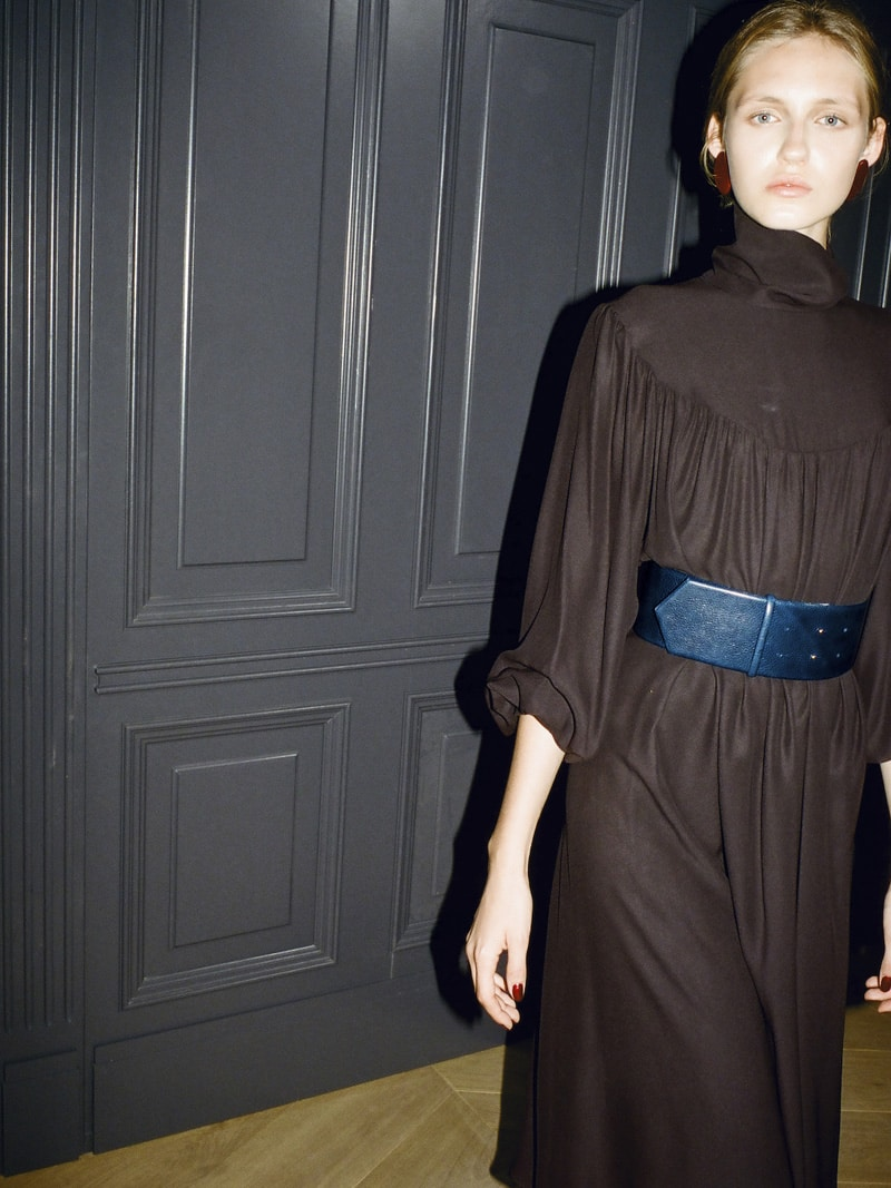 6 Bella silk dress 2